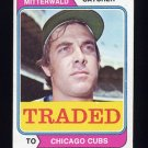 1974 Topps Traded #249T George Mitterwald - Chicago Cubs