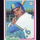 1978 Topps Baseball #698 Juan Bernhardt - Seattle Mariners