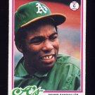 1978 Topps Baseball #658 Manny Sanguillen - Oakland A's
