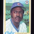 1978 Topps Baseball #639 Gene Clines - Chicago Cubs