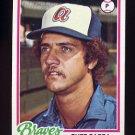 1978 Topps Baseball #578 Buzz Capra - Atlanta Braves