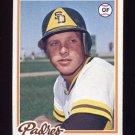 1978 Topps Baseball #566 Merv Rettenmund - San Diego Padres