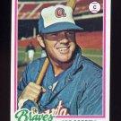 1978 Topps Baseball #527 Vic Correll - Atlanta Braves