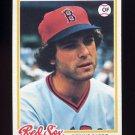 1978 Topps Baseball #524 Bernie Carbo - Boston Red Sox
