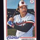 1978 Topps Baseball #517 Andres Mora - Baltimore Orioles