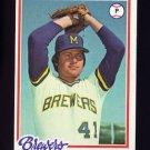 1978 Topps Baseball #474 Jim Slaton - Milwaukee Brewers