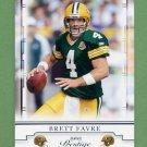 2008 Playoff Prestige Football #035 Brett Favre - Green Bay Packers
