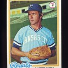 1978 Topps Baseball #441 Larry Gura - Kansas City Royals