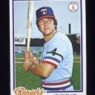 1978 Topps Baseball #438 John Ellis - Texas Rangers