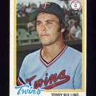 1978 Topps Baseball #432 Terry Bulling RC - Minnesota Twins