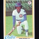 1978 Topps Baseball #423 Dave Rosello - Chicago Cubs
