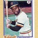 1978 Topps Baseball #410 Bill Madlock - San Francisco Giants Ex