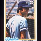 1978 Topps Baseball #382 Joe Lahoud - Kansas City Royals