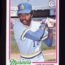 1978 Topps Baseball #366 Larry Milbourne - Seattle Mariners NM-M