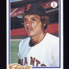 1978 Topps Baseball #359 Marc Hill - San Francisco Giants