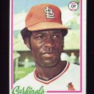 1978 Topps Baseball #352 Tony Scott RC - St. Louis Cardinals