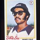1978 Topps Baseball #316 Henry Cruz - Chicago White Sox