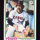1978 Topps Baseball #268 Gil Flores RC - California Angels