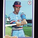 1978 Topps Baseball #260 Bert Campaneris - Texas Rangers