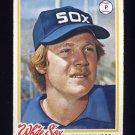 1978 Topps Baseball #251 Don Kirkwood - Chicago White Sox