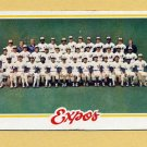 1978 Topps Baseball #244 Montreal Expos Team Checklist NM-M