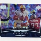 1998 Upper Deck Encore Football #071 Brett Favre - Green Bay Packers