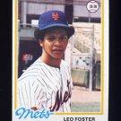 1978 Topps Baseball #229 Leo Foster - New York Mets