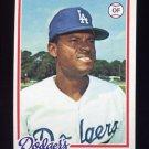 1978 Topps Baseball #228 Manny Mota - Los Angeles Dodgers