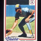 1978 Topps Baseball #154 Cecil Cooper - Milwaukee Brewers