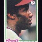 1978 Topps Baseball #150 Bobby Bonds - California Angels