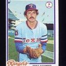 1978 Topps Baseball #146 Doyle Alexander - Texas Rangers