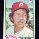 1978 Topps Baseball #136 Ted Sizemore - Philadelphia Phillies