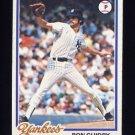 1978 Topps Baseball #135 Ron Guidry - New York Yankees Vg