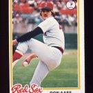 1978 Topps Baseball #012 Don Aase - Boston Red Sox