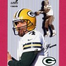 1999 Aurora Pinstripes #057 Brett Favre - Green Bay Packers