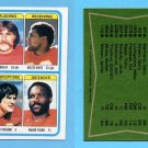 1978 Topps Football #512 Kansas City Chiefs Team Leaders Vg