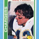 1978 Topps Football #483 Mike Fuller - San Diego Chargers