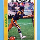 1978 Topps Football #479 Glen Walker - Los Angeles Rams