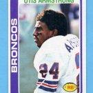 1978 Topps Football #465 Otis Armstrong - Denver Broncos NM-M