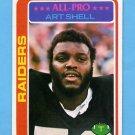 1978 Topps Football #460 Art Shell - Oakland Raiders