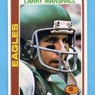 1978 Topps Football #358 Larry Marshall - Philadelphia Eagles
