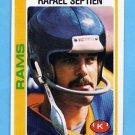 1978 Topps Football #312 Rafael Septien RC - Los Angeles Rams
