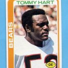 1978 Topps Football #302 Tommy Hart - Chicago Bears