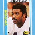 1978 Topps Football #300 Chuck Foreman - Minnesota Vikings