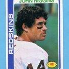 1978 Topps Football #215 John Riggins - Washington Redskins