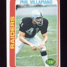 1978 Topps Football #149 Phil Villapiano - Oakland Raiders ExMt