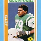 1978 Topps Football #141 Marvin Powell RC - New York Jets