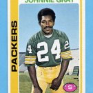 1978 Topps Football #138 Johnnie Gray - Green Bay Packers