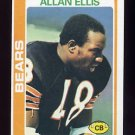 1978 Topps Football #132 Allan Ellis - Chicago Bears ExMt