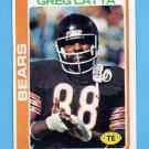 1978 Topps Football #112 Greg Latta - Chicago Bears